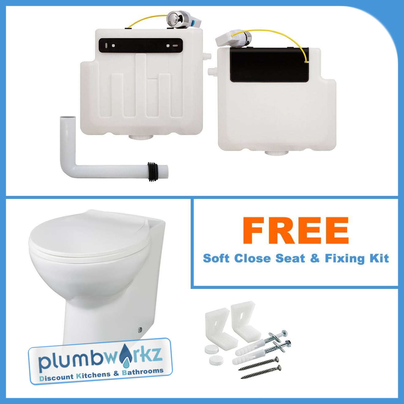 Cheap Shower Baths Uk Back To Wall Btw Wc Pan Toilet Concealed Cistern Amp Soft